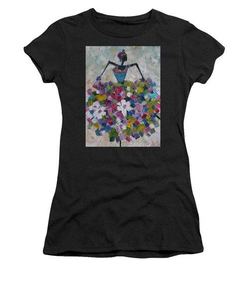 Caribbean Dancer Women's T-Shirt (Athletic Fit)