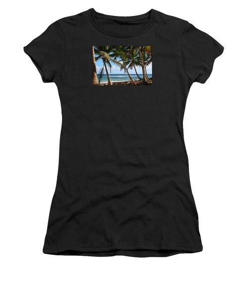 Caribbean Palms Women's T-Shirt