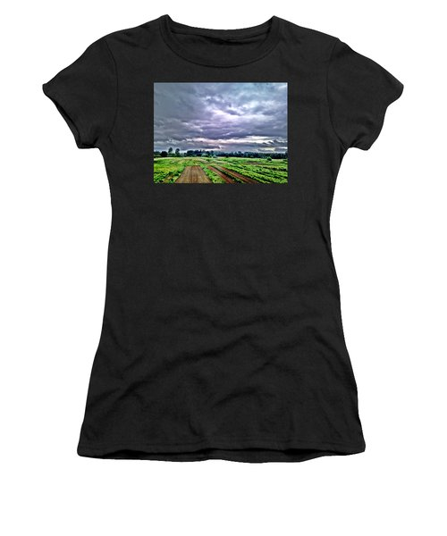 Carnation Women's T-Shirt (Athletic Fit)