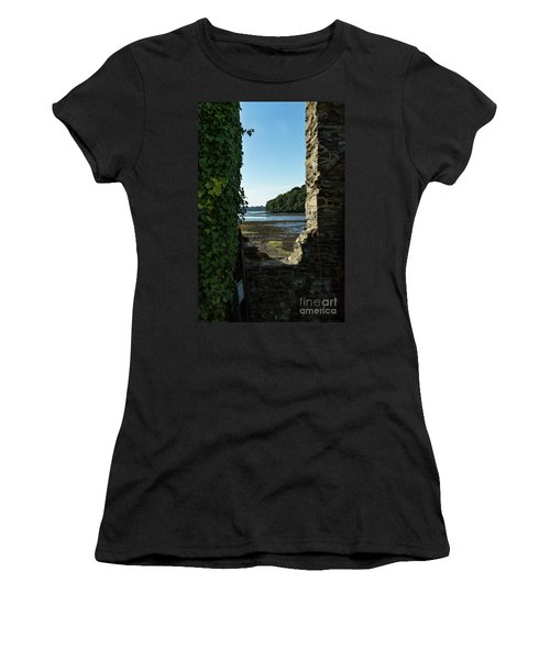 Photographs Of Cornwall Carnon Mine Window Women's T-Shirt