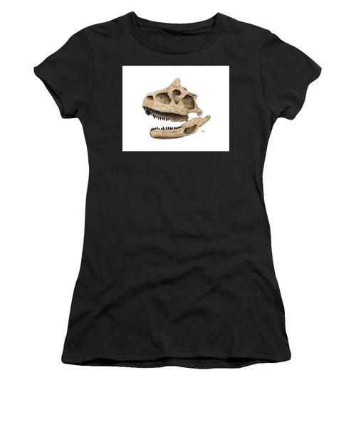 Carnotaurus Skull Women's T-Shirt