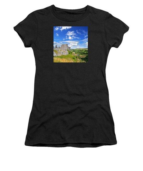 Carreg Cennen Castle 1 Women's T-Shirt