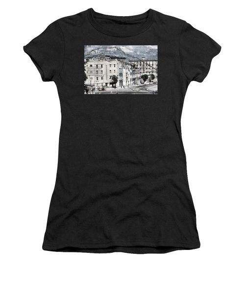Carte Isle De Cuba Women's T-Shirt (Athletic Fit)