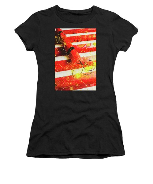 Cartoon Bomb Women's T-Shirt
