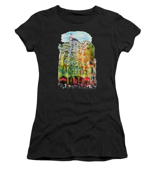 Casa Batllo Barcelona Women's T-Shirt