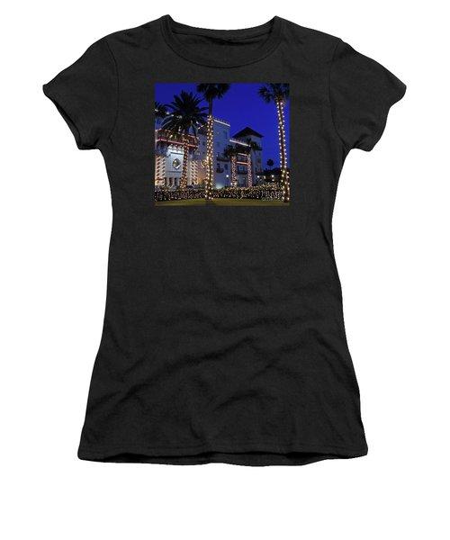 Casa Monica Inn Night Of Lights Women's T-Shirt
