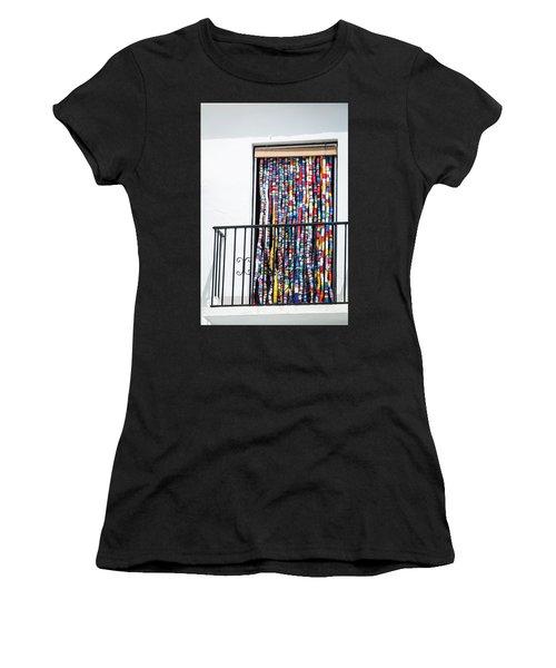 Cascade Of Colour Women's T-Shirt (Athletic Fit)