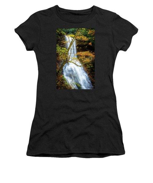 Cascades Deck View Women's T-Shirt (Athletic Fit)