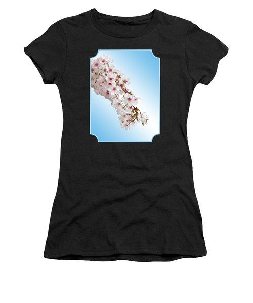 Cascading Cherry Blossom Women's T-Shirt