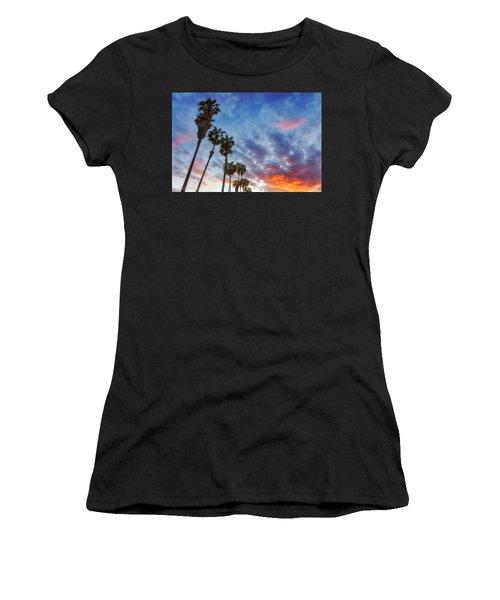 Casitas Palms Women's T-Shirt (Athletic Fit)