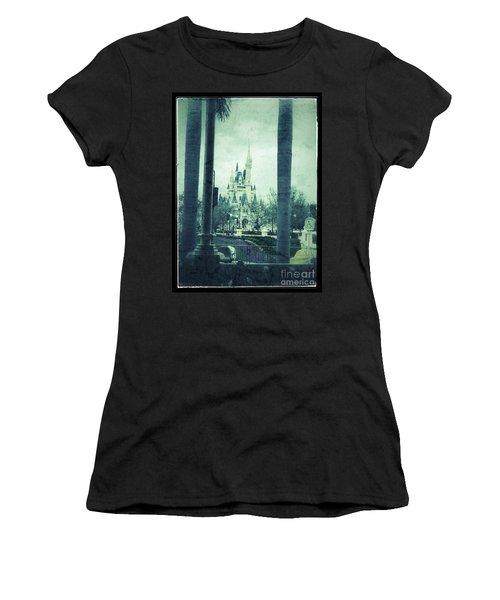 Castle Between The Palms Women's T-Shirt