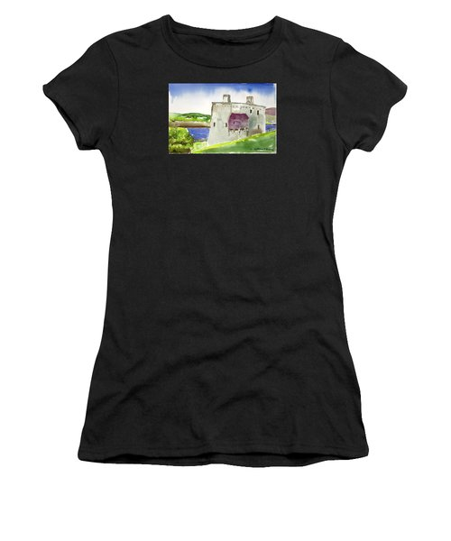 Castle From The Hill Women's T-Shirt