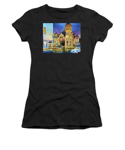 Castle Of Imagination Women's T-Shirt (Athletic Fit)