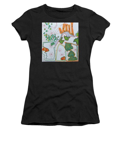 Castle On The Hill Women's T-Shirt