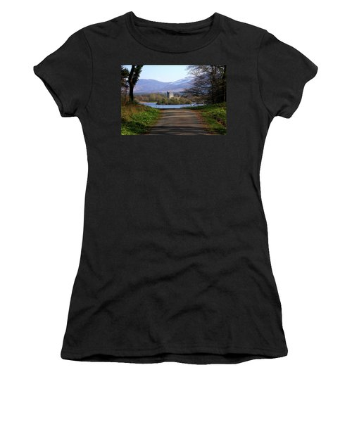 Castle On The Lakes Women's T-Shirt (Athletic Fit)