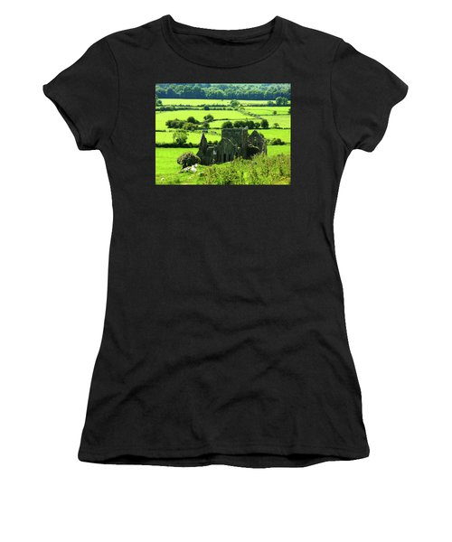 Castle Ruins Countryside Women's T-Shirt