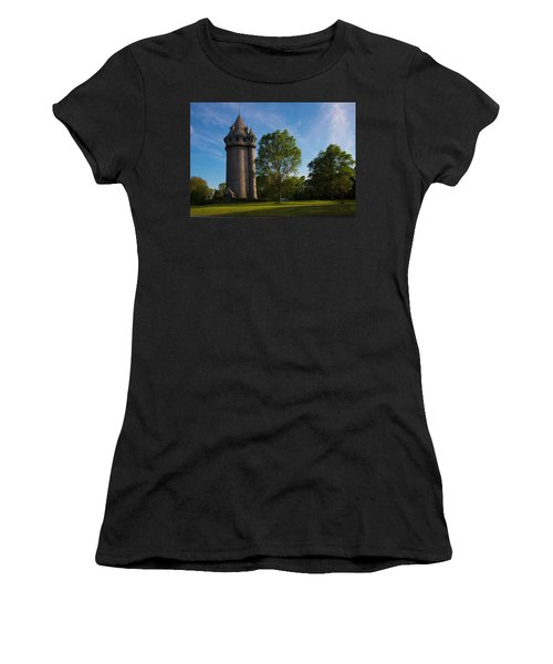 Castle Turret On The Green Women's T-Shirt