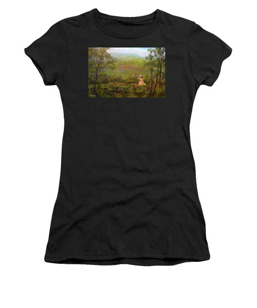 Catching Butterflys Women's T-Shirt (Athletic Fit)