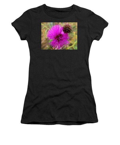 Catclaw Pink Mimosa  Women's T-Shirt