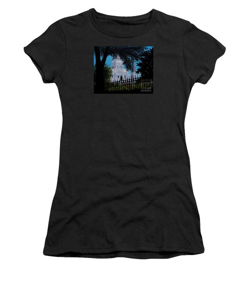 Cathedral At The Square Women's T-Shirt (Athletic Fit)