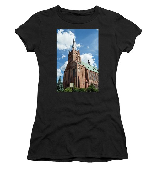 Cathedral Basilica Of St. James The Apostle, Szczecin A Women's T-Shirt