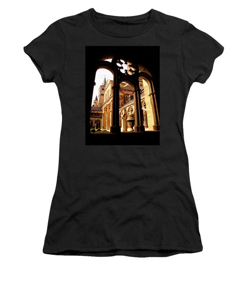 Cathedral Of Trier Window Women's T-Shirt (Athletic Fit)