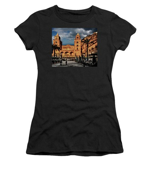 Cathedral  Women's T-Shirt (Junior Cut) by Patrick Boening