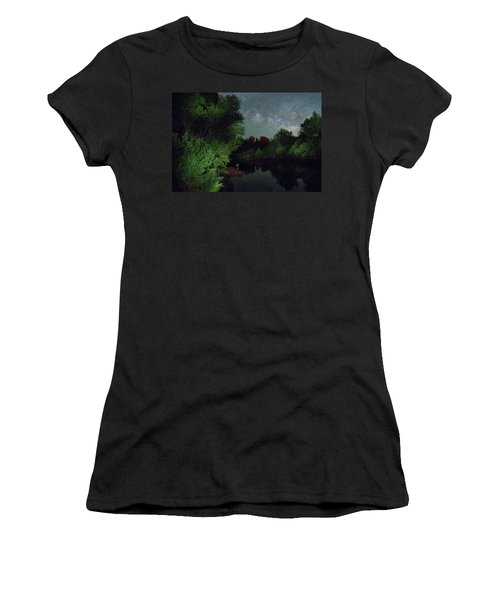 Cathedrals' Skies Women's T-Shirt (Athletic Fit)