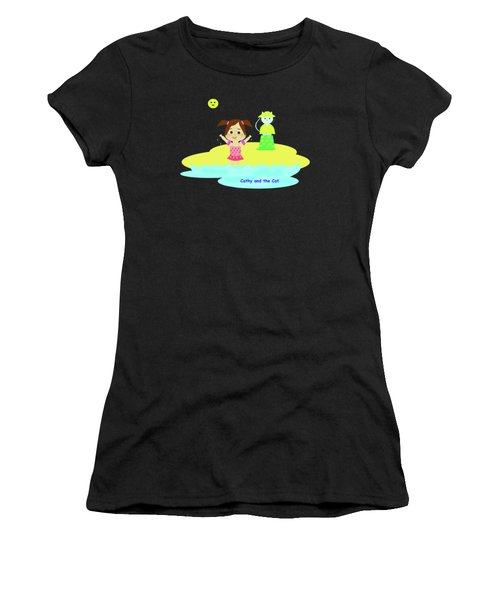 Cathy And The Cat And Fresh Water Women's T-Shirt