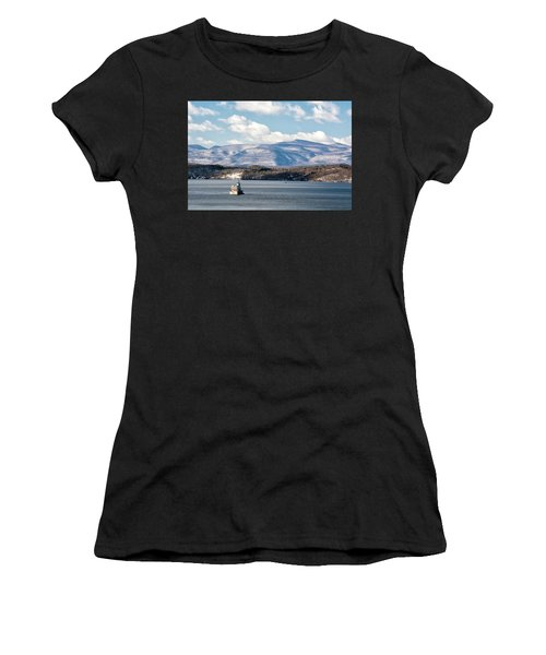 Catskill Mountains With Lighthouse Women's T-Shirt