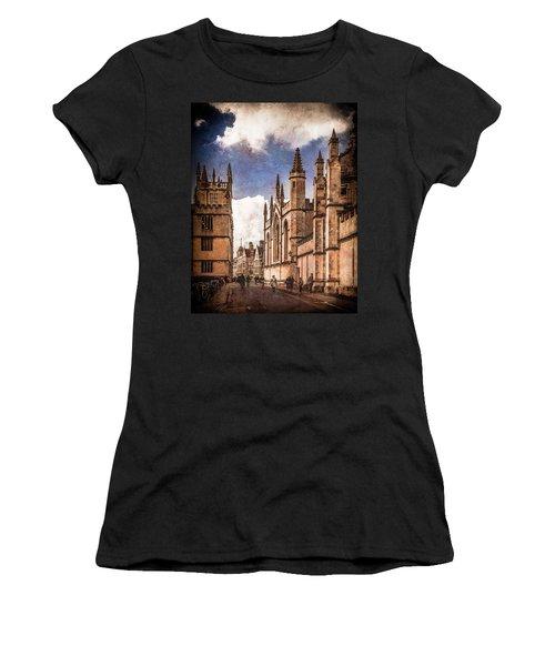 Oxford, England - Catte Street Women's T-Shirt