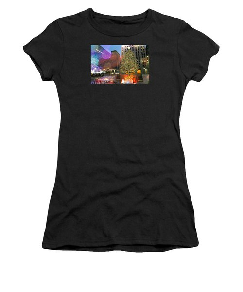 Caught Me Dreaming Women's T-Shirt (Athletic Fit)