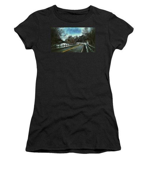 Caution Two Women's T-Shirt