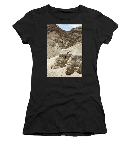 Caves Of The Dead Sea Scrolls Women's T-Shirt (Athletic Fit)