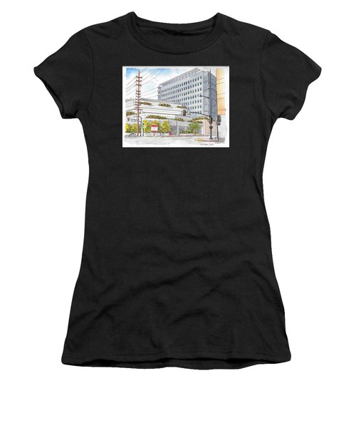 Cedars-sinai Medical Center, 3rd And San Vicente, West Hollywood, Ca Women's T-Shirt