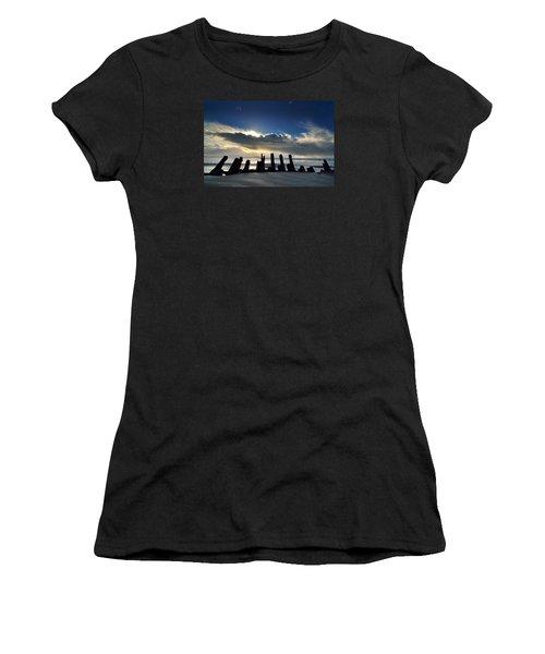 Cefn Sidan Beach 5 Women's T-Shirt