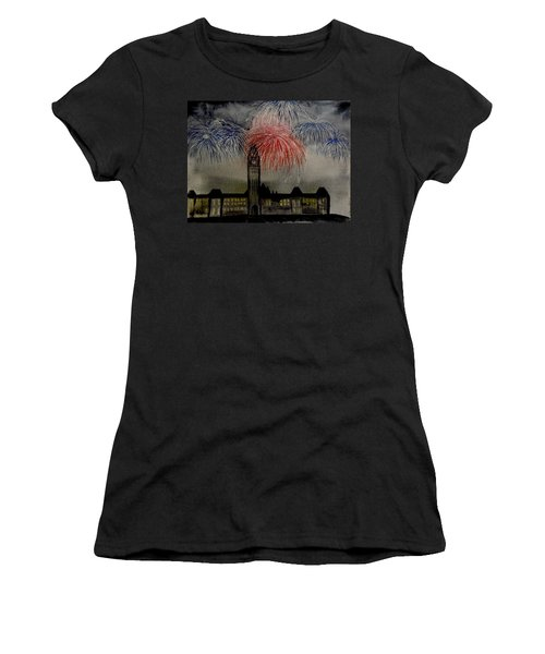 Celebrate Women's T-Shirt (Junior Cut) by Betty-Anne McDonald