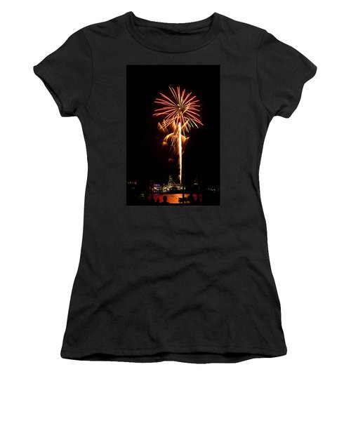 Celebration Fireworks Women's T-Shirt (Athletic Fit)