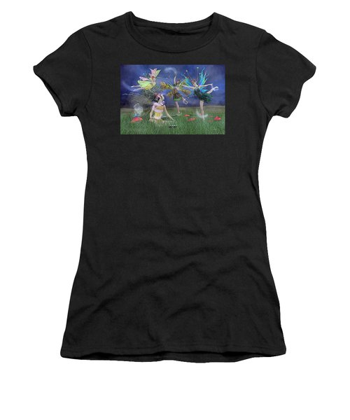 Celebration Of Night Alice And Oz Women's T-Shirt (Athletic Fit)