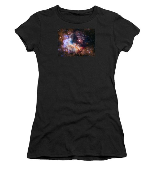 Celebrating Hubble's 25th Anniversary Women's T-Shirt (Athletic Fit)