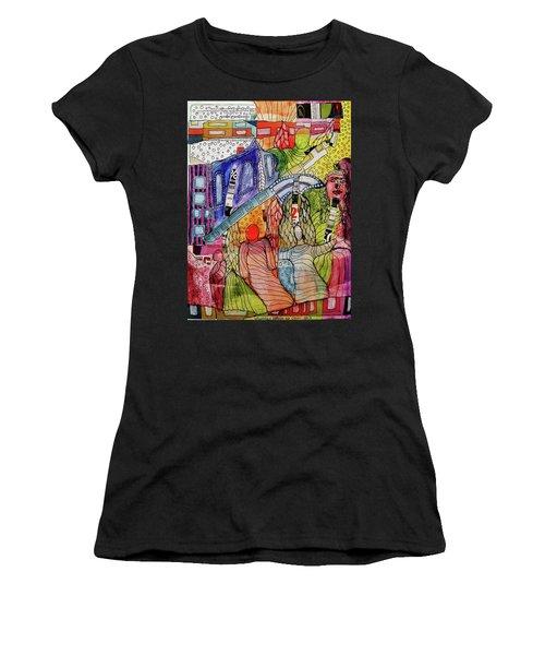 Celestial Windows Women's T-Shirt (Athletic Fit)
