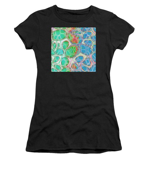 Cell Abstract 10 Women's T-Shirt (Athletic Fit)