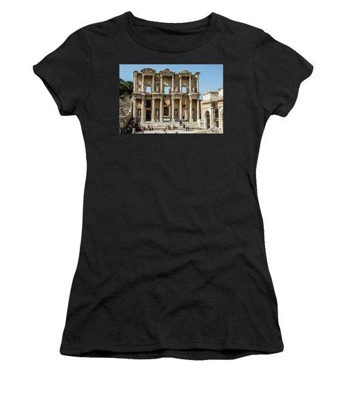 Celsus Library Women's T-Shirt (Athletic Fit)