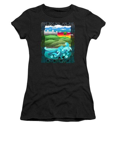 Celtic Castle Tor Women's T-Shirt