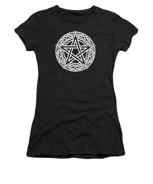Celtic Pentagram Women's T-Shirt (Athletic Fit)