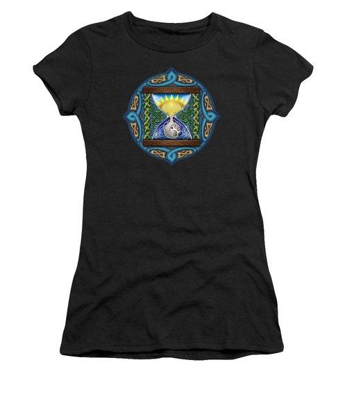 Celtic Sun Moon Hourglass Women's T-Shirt