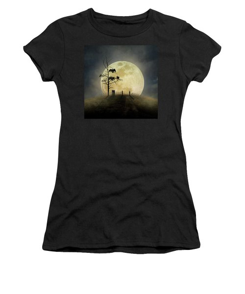 Cemetery Hill Women's T-Shirt (Athletic Fit)