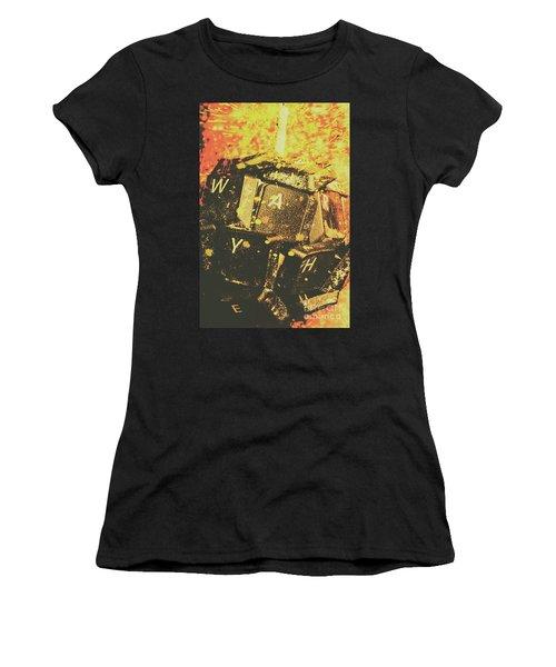 Censorship As A Weapon Women's T-Shirt