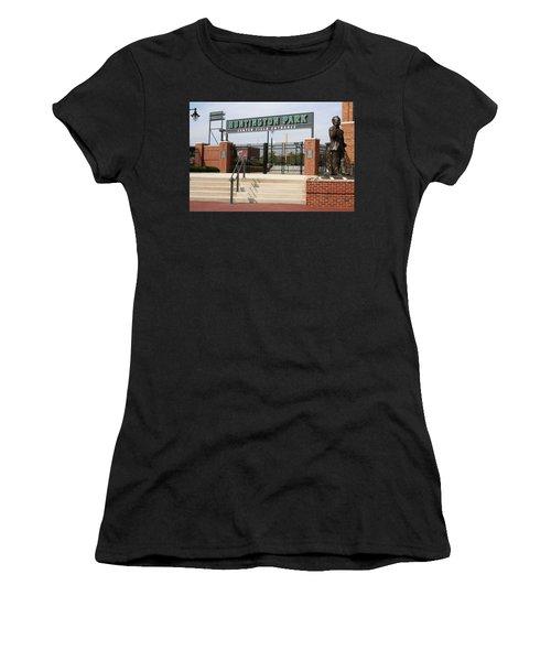Center Field Entrance At Huntington Park  Women's T-Shirt (Athletic Fit)