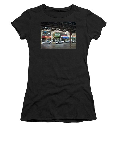 Central Camera On Wabash Ave  Women's T-Shirt